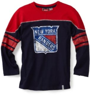 NHL Youth New York Rangers Shootout L/S Tee   R58Dxymm