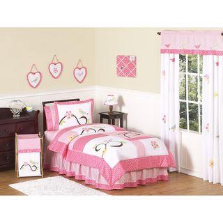 Sweet JoJo Designs Song Bird 3 piece Full / Queen size Bedding Set