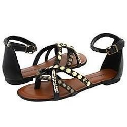 Madden Girl Brendahh Black Paris Sandals