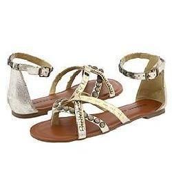 Madden Girl Brendahh Gold Metallic Sandals