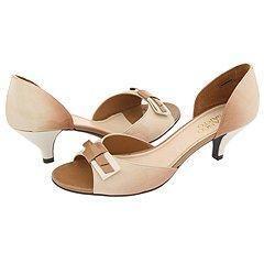 Franco Sarto Lady Camel Fantasy Patent Pumps/Heels