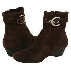Circa Joan & David Hoffman6 Dark Brown Suede Boots