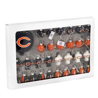 NFL 31 piece Glass Ornament Set