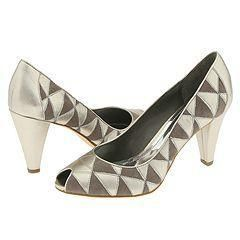 Franco Sarto Culture Grey Suede/Kid Pumps/Heels