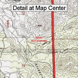 USGS Topographic Quadrangle Map   Acton, California