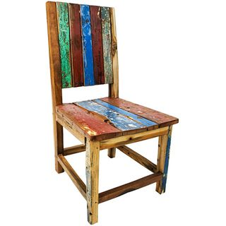 Ecologica Furniture Reclaimed Wood Chair