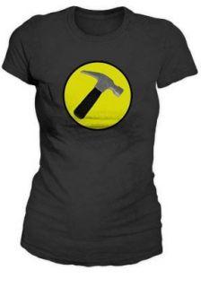 Captain Hammer Logo Replica Juniors / Womans T Shirt