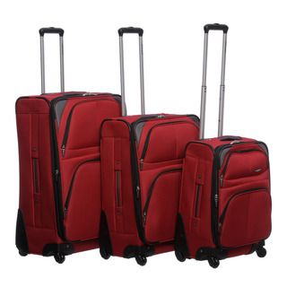 Pierre Cardin Somerset 3 piece Spinner Luggage Set