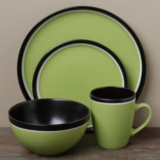 Tabletop Gallery Argentina Green 16 piece Dinnerware Set