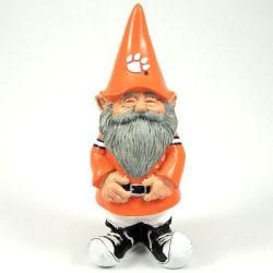 Clemson Tigers Offical Good Luck Garden Gnome
