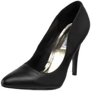 com Steve Madden Womens Shooterr Pump,Black Leather,5.5 M US Shoes