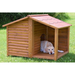 Rustic Dog House (L)