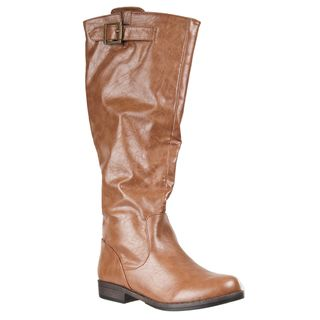 Riverberry Womens Mid Calf Montage Riding Boots