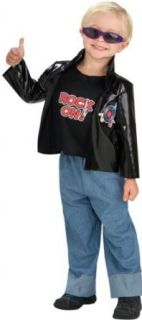 Toddler Boy Greaser Costume Clothing
