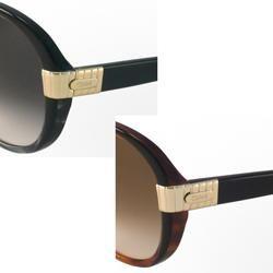 Chloe Womens CL2211 Round Sunglasses