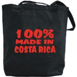 Canvas Tote Bag Black  100% Made In Costa Rica  Country
