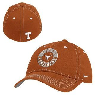 Nike Texas Longhorns Burnt Orange Fade In Swoosh Flex Fit