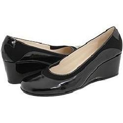Taryn Rose Anala Black Fabric Pumps/Heels