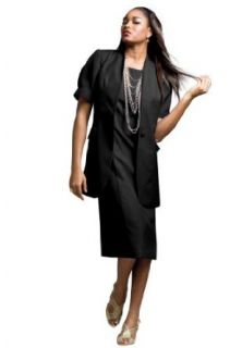 The Best Dressed Womens Plus Size Short Sleeve Sheath