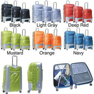 Calpak Lafayette 3 piece Expandable Hardside Luggage Set
