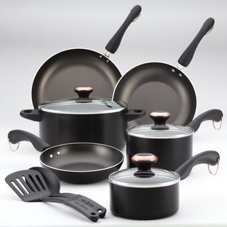 Paula Deen Signature AAP Black 11 piece Cookware Set