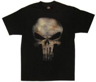 Punisher Logo (Skull Texture)   Marvel Comics T shirt