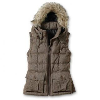 Eddie Bauer 1942 Yukon Classic Model Wool Tweed Down Vest