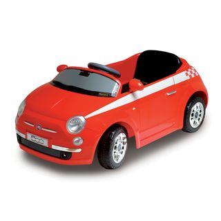 Motorama Jr. Red Fiat 500 Ride on Car