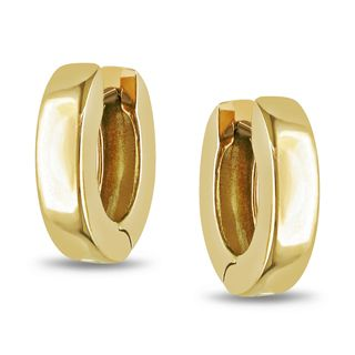Miadora 18k Yellow Gold Hoop Earrings