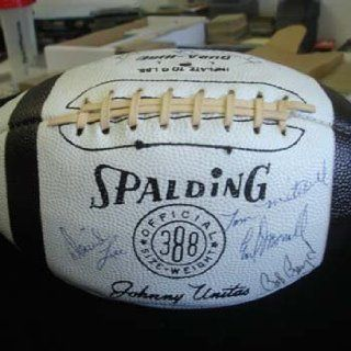 Circa 1968 1969 Baltimore Colts Team Signed Football