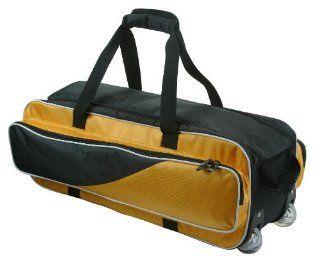 Rolling Bowling Bag Three 3 Ball w/ wheels & Handles by T