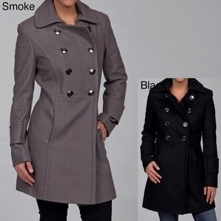 Kenneth Cole Womens Double breasted Coat FINAL SALE