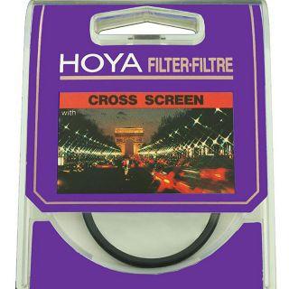 Hoya 67 mm Four point Cross Screen Lens Filter