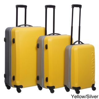 Nautica Ahoy 3 piece Hardside Spinner Luggage Set