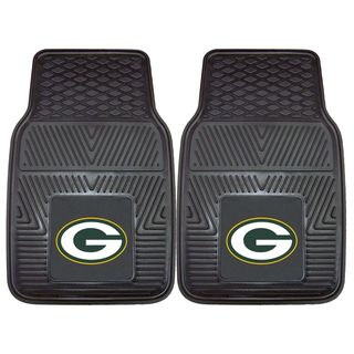 Fanmats Green Bay Packers 2 piece Vinyl Car Mats