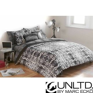 Marc Ecko Unltd Undercover Full/Queen size Duvet Cover Set