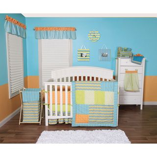 Trend Lab Levi Collection 5 piece Crib Bedding Set