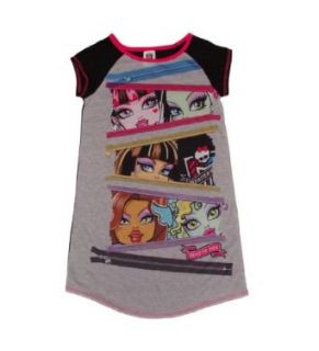 Monster High Character Profile Girls Nightgown (L (10/12