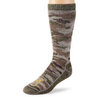 Browning Hosiery Mens Camo Wool Blend Sock, 2 Pair Pack