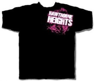 HAWTHORNE HEIGHTS   Dissolve   black T shirt   Size Youth