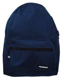 YAK PAK Basic Student Backpack   Navy: Shoes