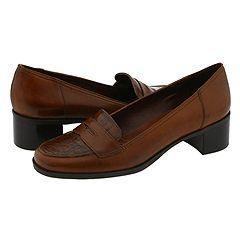 Naturalizer Sharad Saddle Tan Leather/Gator Loafers
