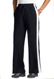 Woman Within Plus Size Pants In Sports Knit With Side