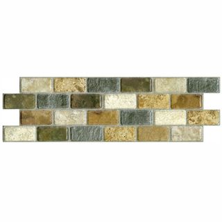 SomerTile 3.75x11.25 in Montage Tressor Subway Ceramic Tile (Pack of