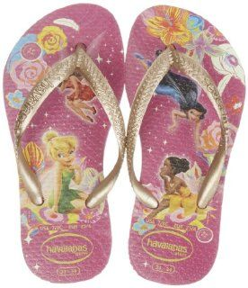 Havaianas Slim Tinkerbell Flip Flop (Todlder/Little Kid) Shoes