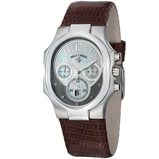 Philip Stein Womens Signature Mother Of Pearl Chronograph Watch