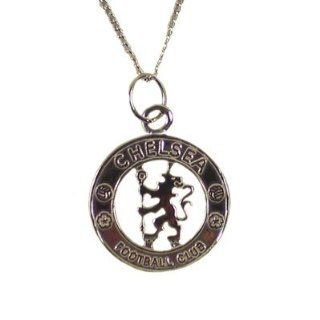 Chelsea FC Authentic Sterling Silver Necklace and Pendant