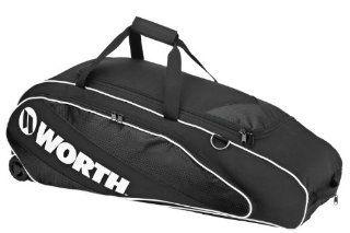 Worth TPWB Tournament Player Wheeled Bag (Black) Sports