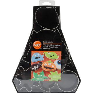 Wilton Monster Halloween Cookie Cutter Set (Pack of 7)