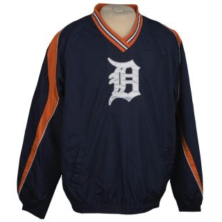 G3 Mens Detroit Tigers Pullover Jacket
